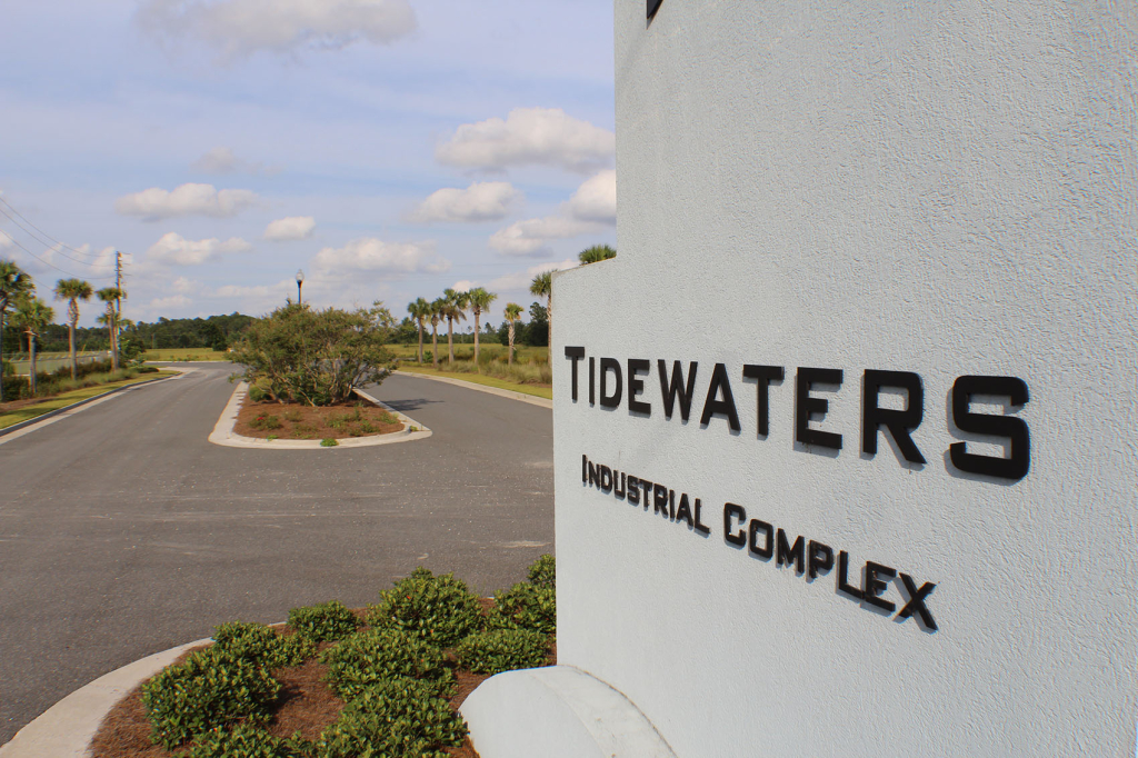 Tidewaters Industrial Park, ideal for logistics warehousing