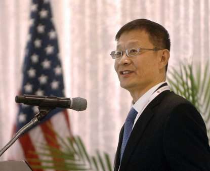 Chinese consul general visits darien mcintosh county for International decor outlet darien