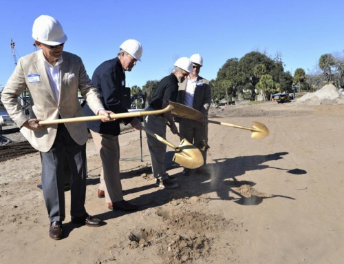 'Oaks on the River' holds groundbreaking ceremony in Darien
