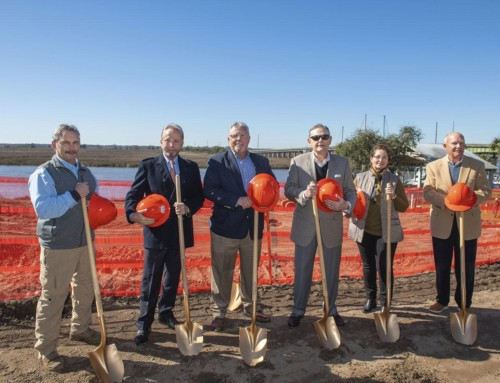 Groundbreaking ceremony held for Oaks on the River resort